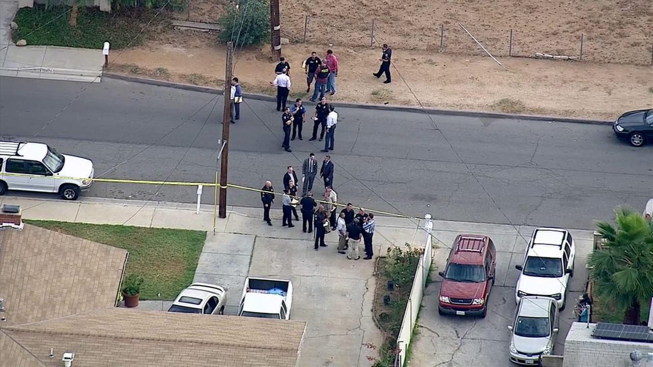 An investigation was underway in Riverside after a fatal officer-involved shooting on Tuesday, Nov. 18, 2014.