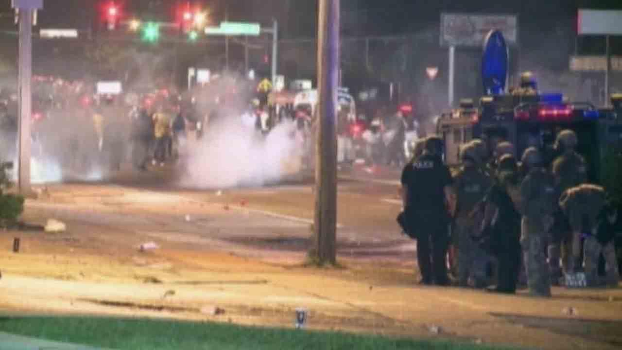 The Ferguson police shooting of 18-year-old Michael Brown touched off days of violent protests. Law enforcement officials fear more unrest could follow the grand jury announcement.