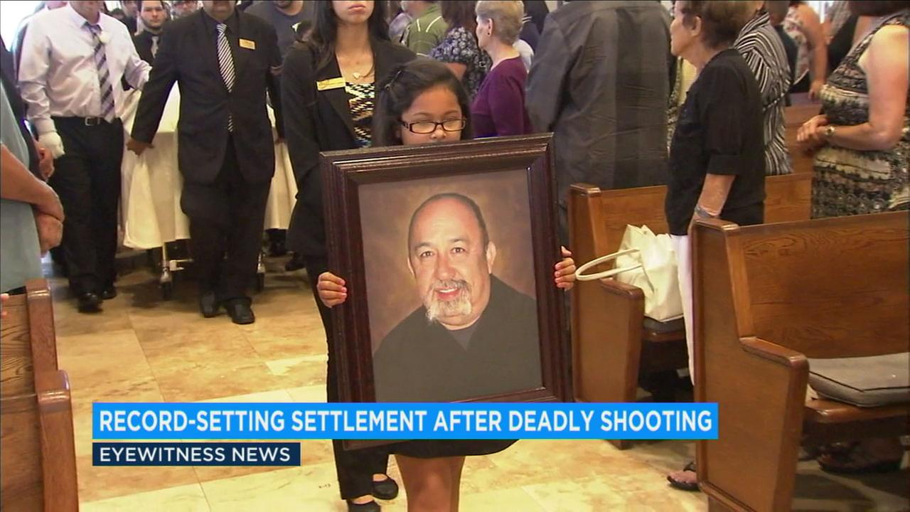 Los Angeles County has reached a $14.3 million settlement with the family of Frank Mendoza, who was mistakenly killed by sheriffs deputies in 2014.