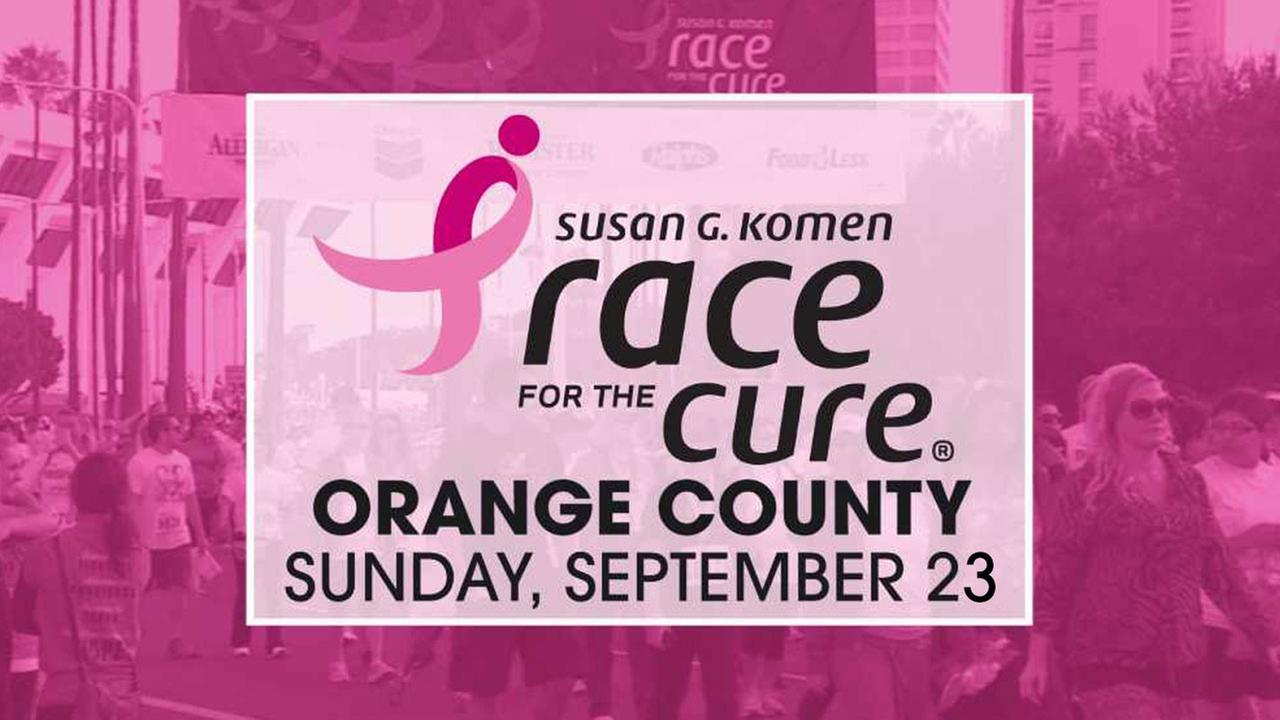 Susan G. Komen Race for the Cure Orange County 2018