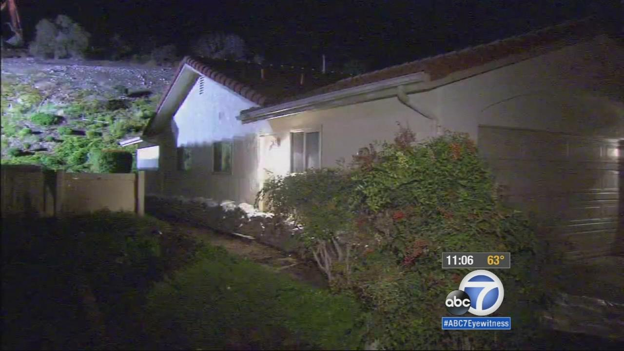 Camarillo residents living near the hillside that burned in last years Spring Fire are being encouraged to voluntarily evacuate amid an impending storm.