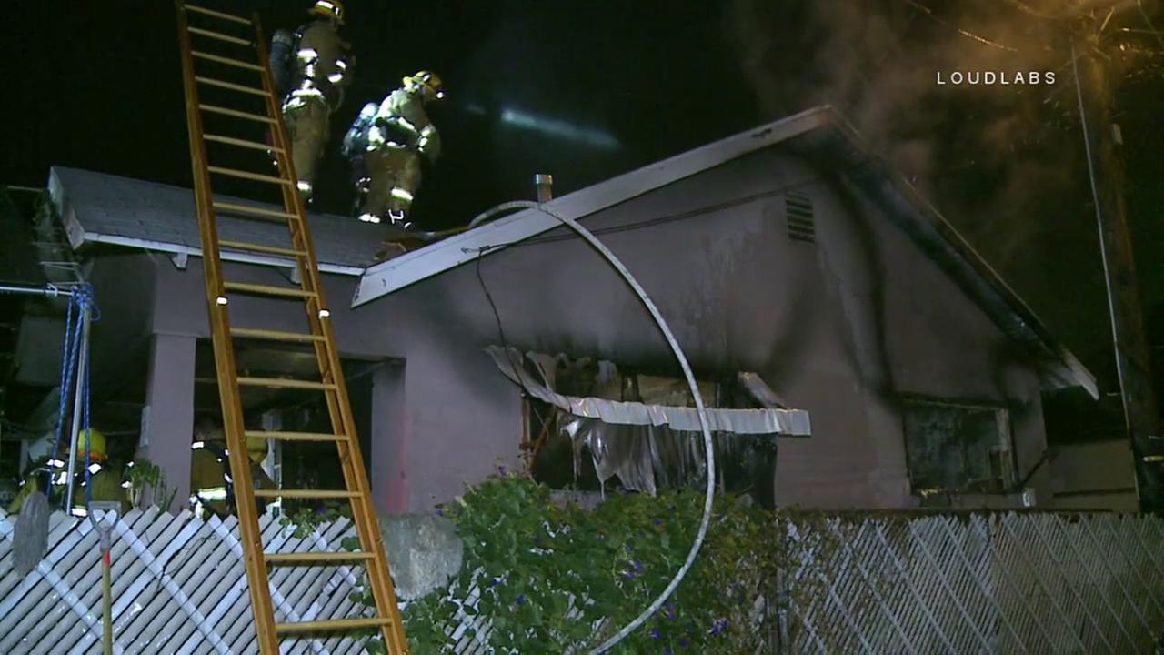A 10-year-old girl was killed in a Cypress Park house fire that left six people hospitalized.