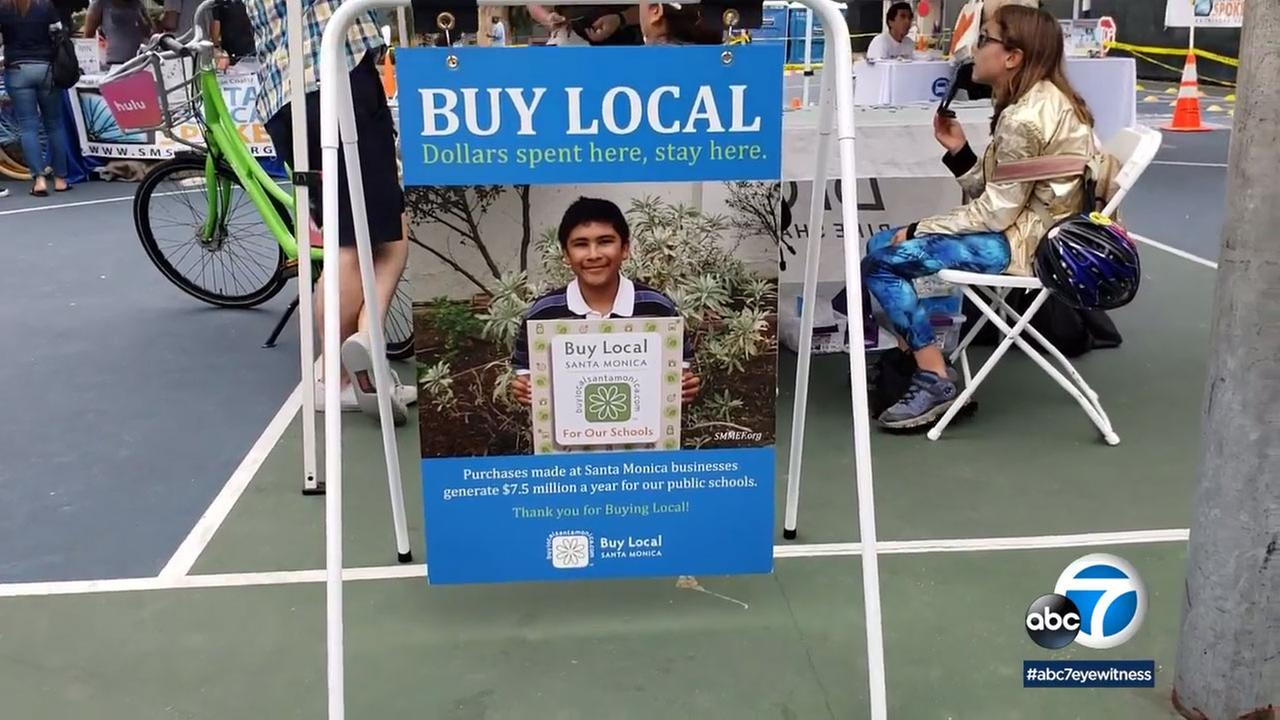 The Buy Local Health and Fitness Festival at Reed Park brought together food and health vendors.