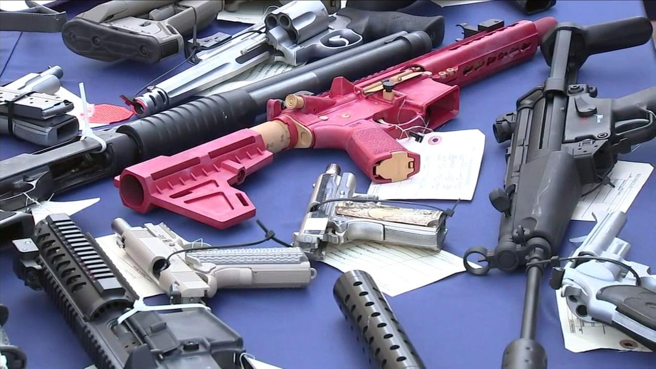 A crime-fighting partnership has helped take hundreds of guns off the streets of Compton.