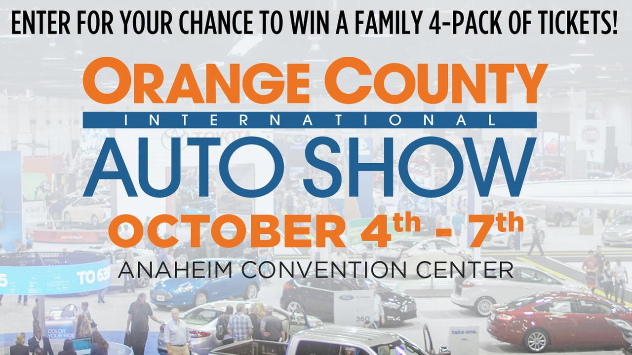 ABC7 wants to give you a chance to win tickets to the OC International Auto Show!