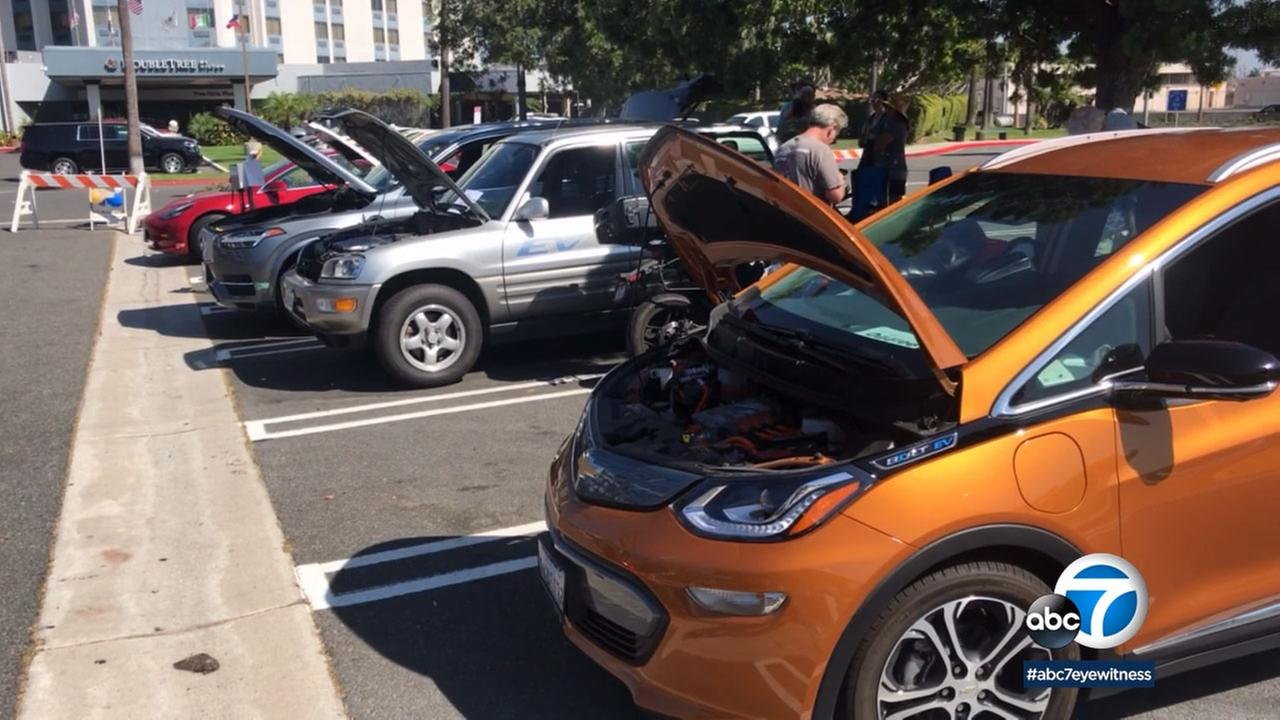Carson hosted its 2nd annual Electric Vehicle Showcase, as part of National Drive Electric Week.