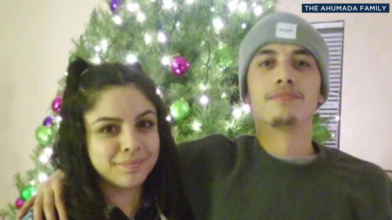 Jose Ahumada, 23, is shown in an undated photo with his sister Bertha.
