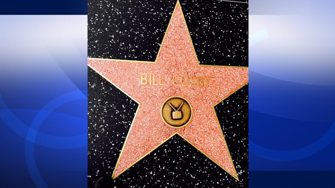 Bill Cosbys star on the Hollywood Walk of Fame was found vandalized on Friday, Dec. 5, 2014.