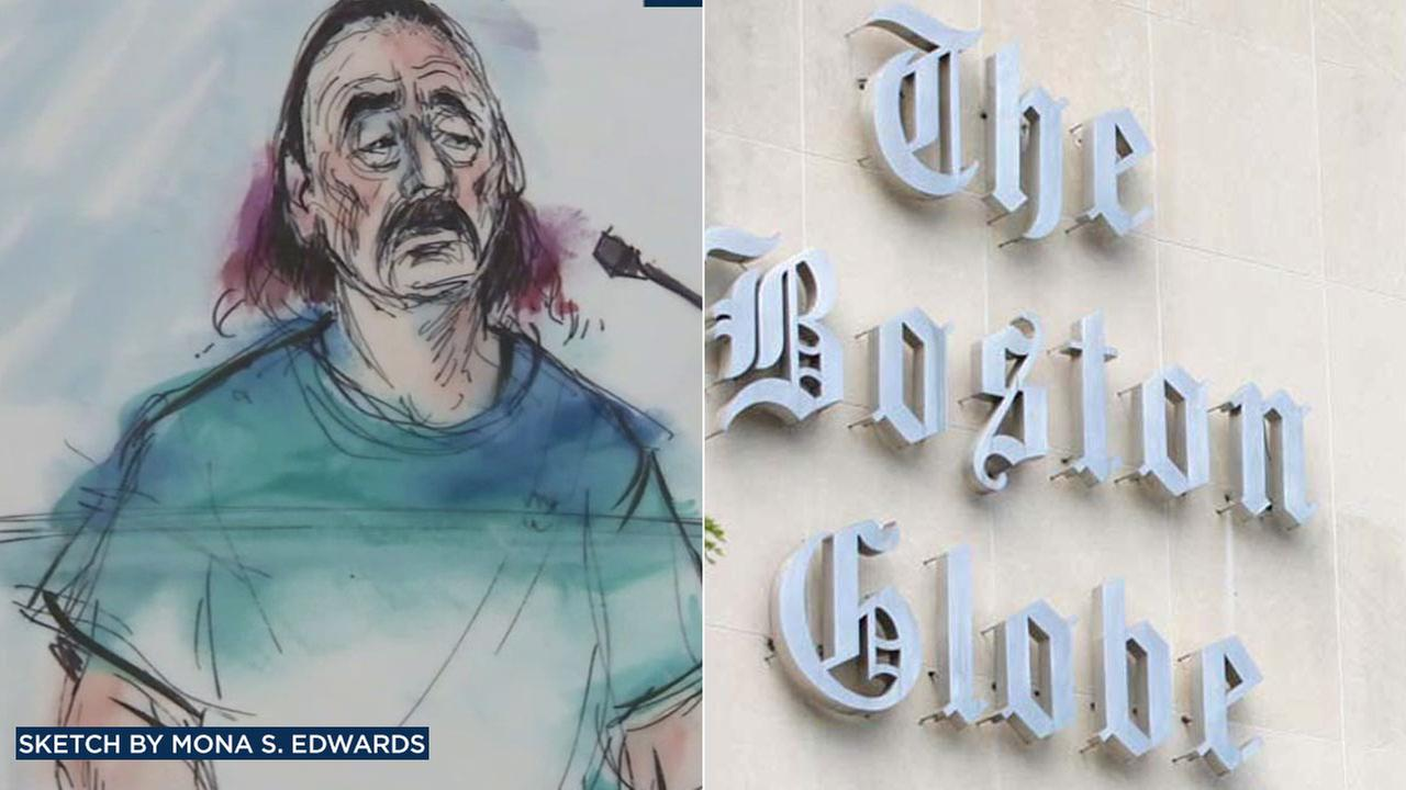 Robert D. Chain of Encino has been indicted for allegedly making threats to kill employees of The Boston Globe.