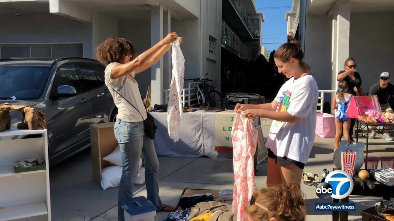 Santa Monica held its 8th annual Citywide Yard Sale.