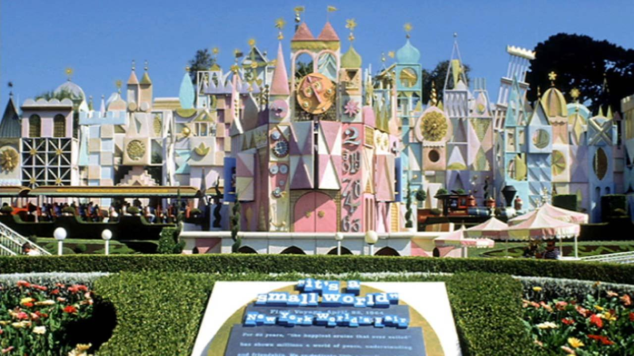 File photo of the Its A Small World ride at Disneyland in Anaheim, California.