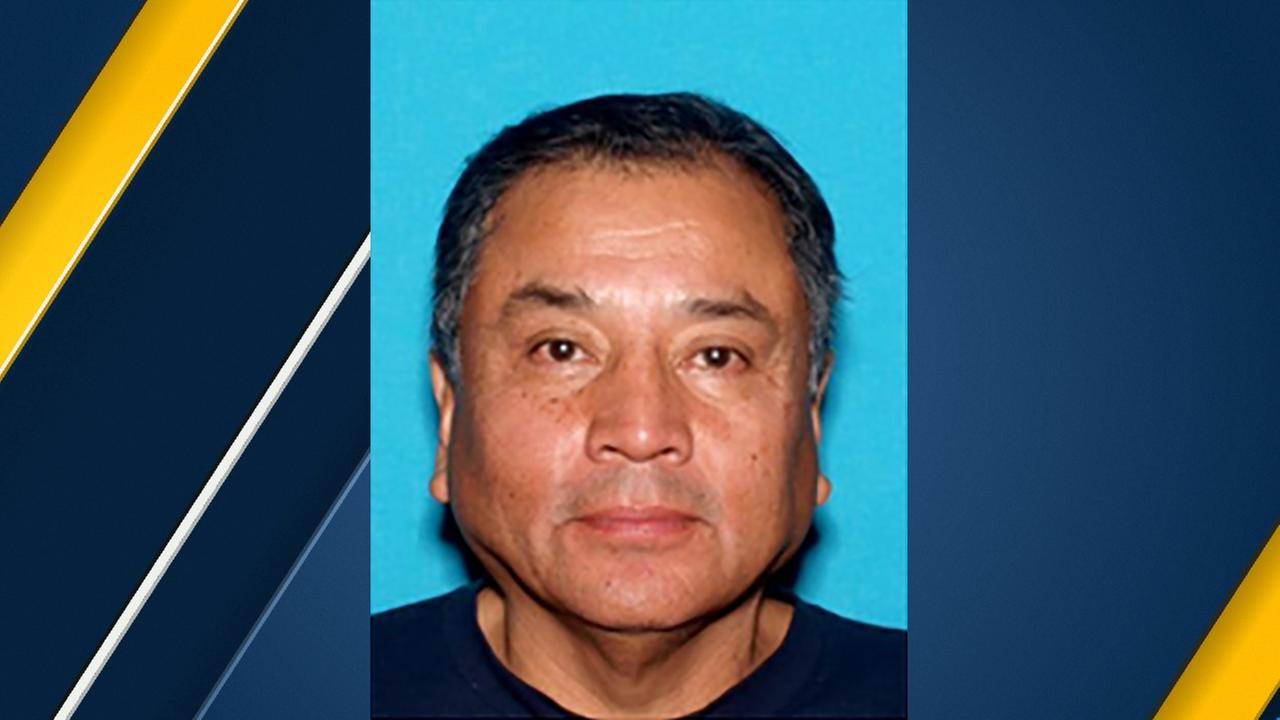 Benjamin Ramirez is seen in a photo provided by authorities after his wife was found fatally shot in Carson on Friday, Oct. 5, 2018.