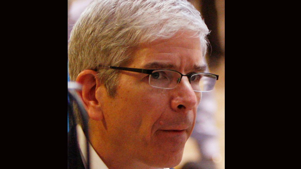 Paul Romer attends the World Economic Forum in Davos, Switzerland.