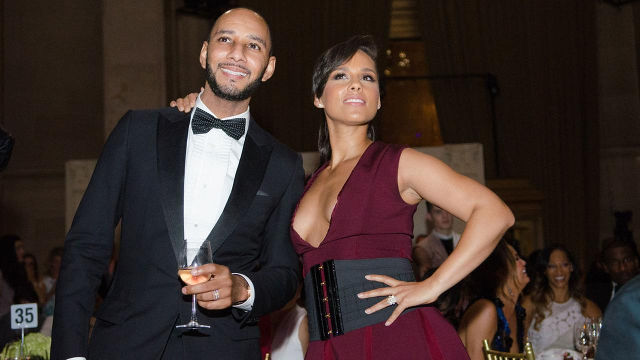 Alicia Keys And Swizz Beatz 2014