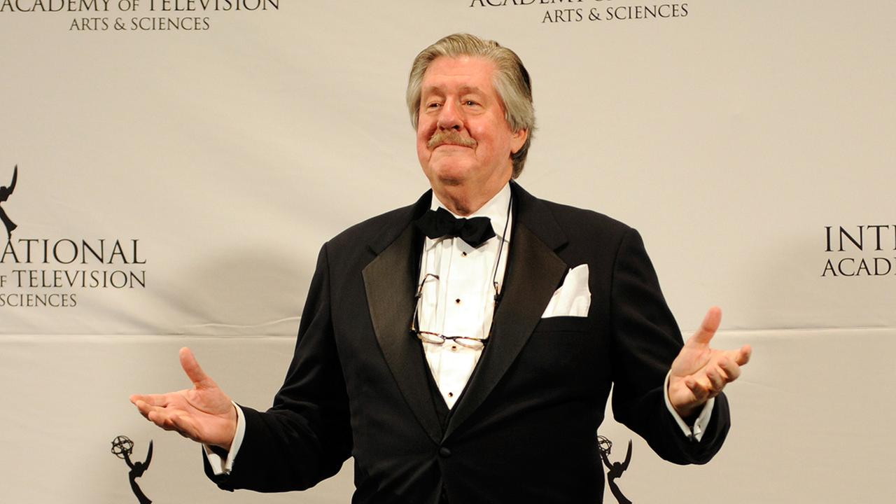 Edward Herrmann after presenting an award at the 39th International Emmy Awards, Monday, Nov. 21, 2011 in New York.