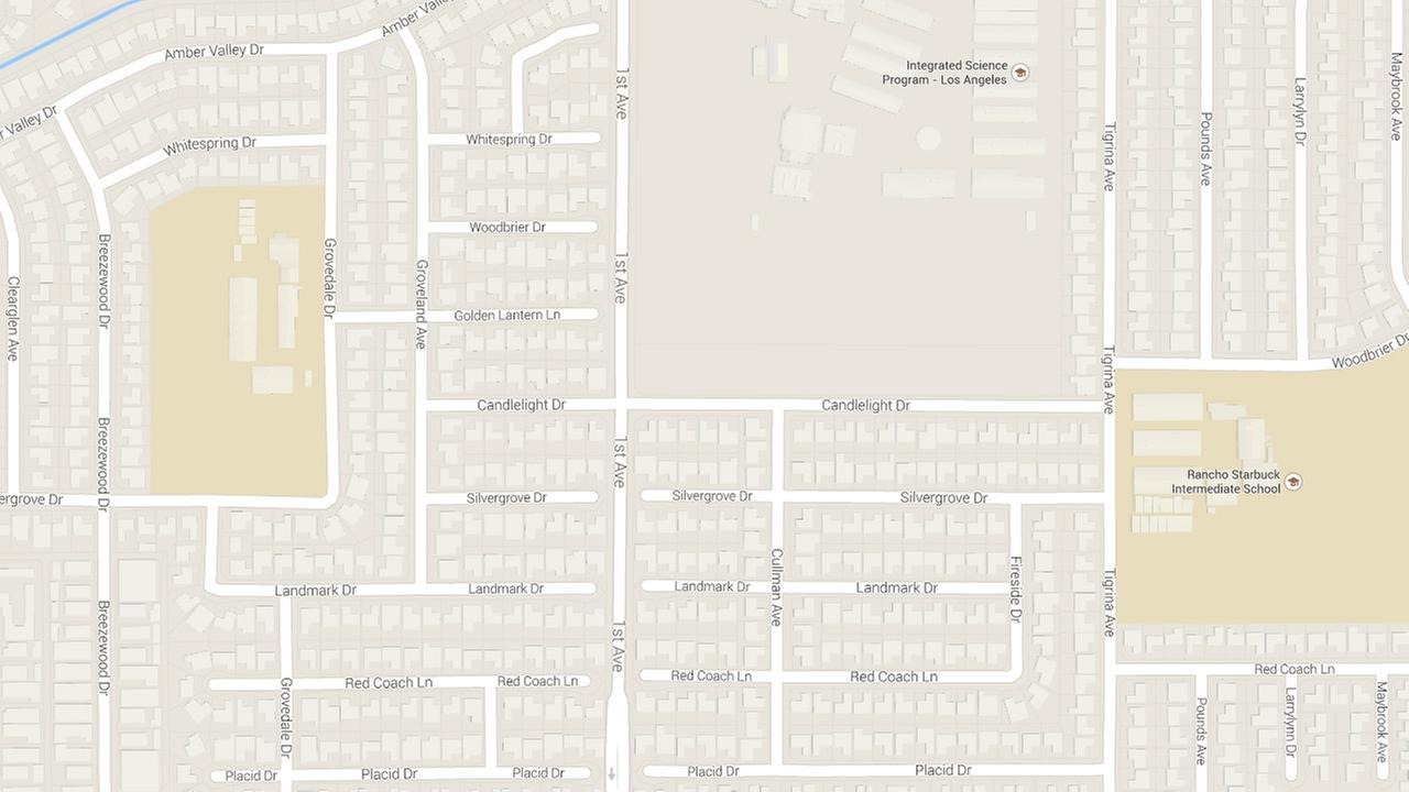 A man and a woman were killed in a head-on car collision in Whittier on Thursday, Jan. 1, 2014.
