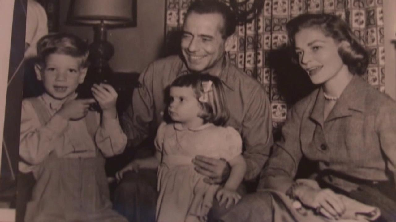 A package filled with personal items that belonged to Humphrey Bogart and Lauren Bacall was accidentally mailed to a family in Fresno County.