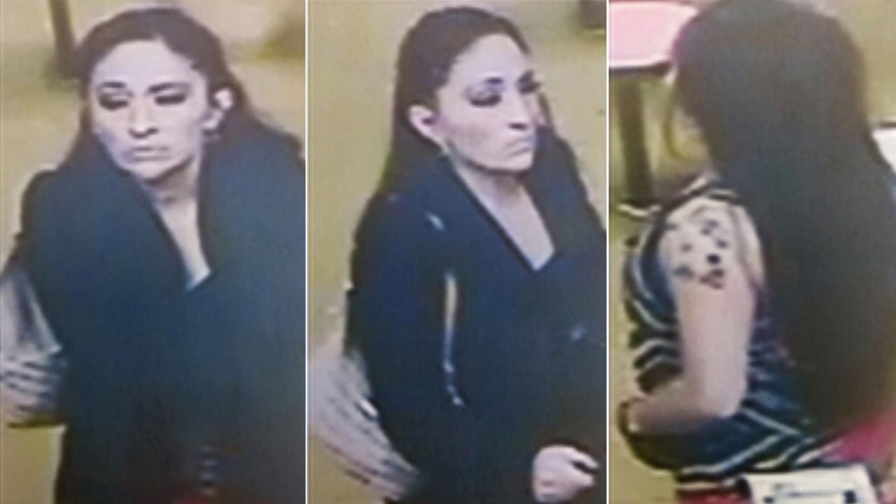 Los Angeles police are asking for the publics help to locate a woman who was possibly assaulted and abducted from a doughnut shop in Highland Park on Saturday, Dec. 20, 2014.