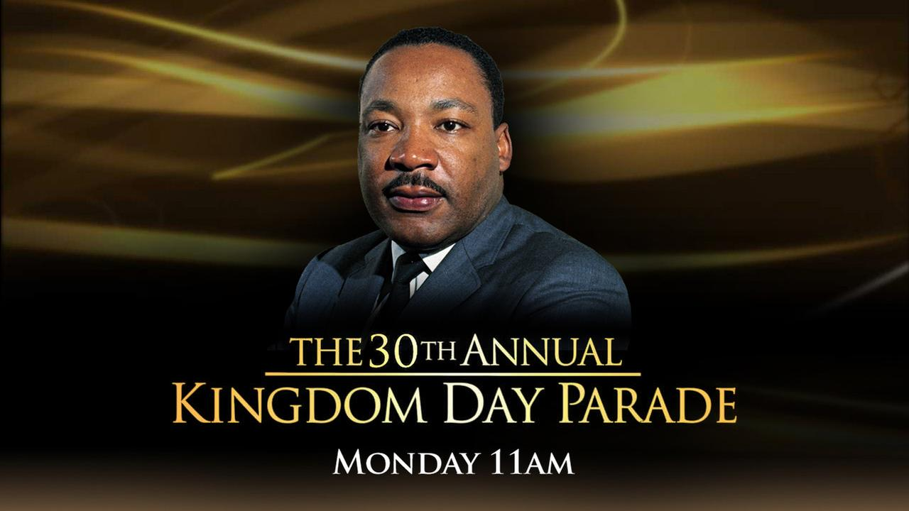 ABC7 is proud to broadcast the 30th annual Kingdom Day Parade, celebrating the life of Dr. Martin Luther King, Jr.