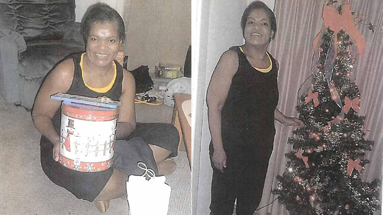 Gena Richardson, 46, is shown in photos released by the Pasadena Police Department.