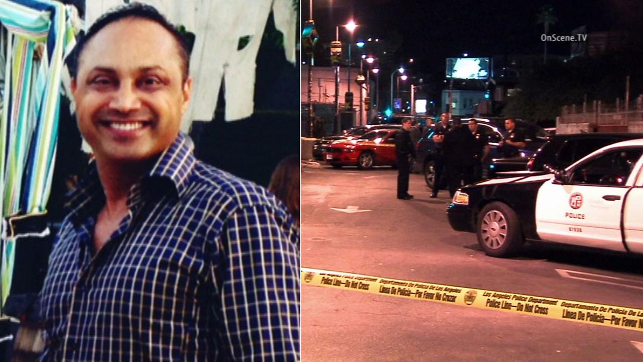 Kameron Segal, the CEO of William Holdings Property Management and Acquisitions, was shot while sitting in his Rolls Royce near Sunset Boulevard and Gardner Street in Hollywood.