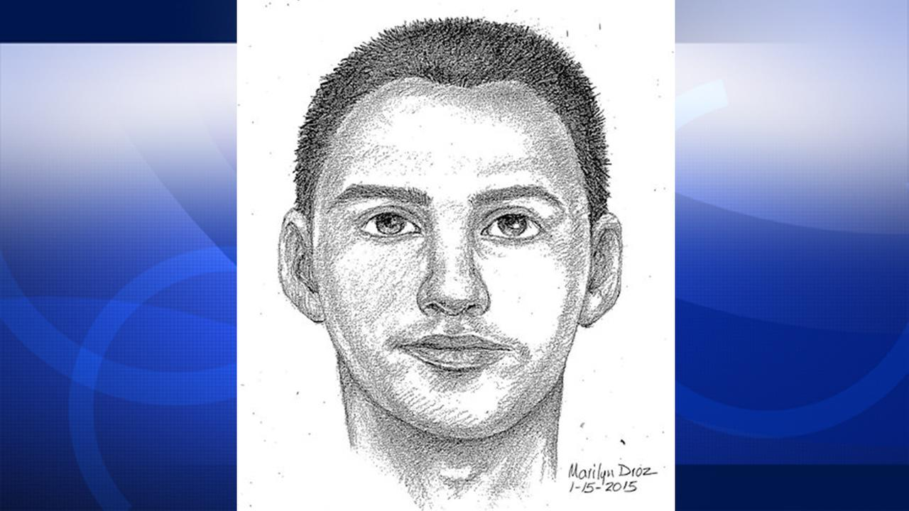 A suspected Huntington Beach burglar is shown in this composite sketch.