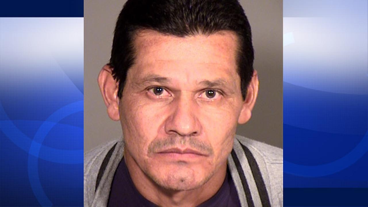 Antonio Cerna, 49,  was arrested on suspicion of exposing himself at parks in Thousand Oaks.