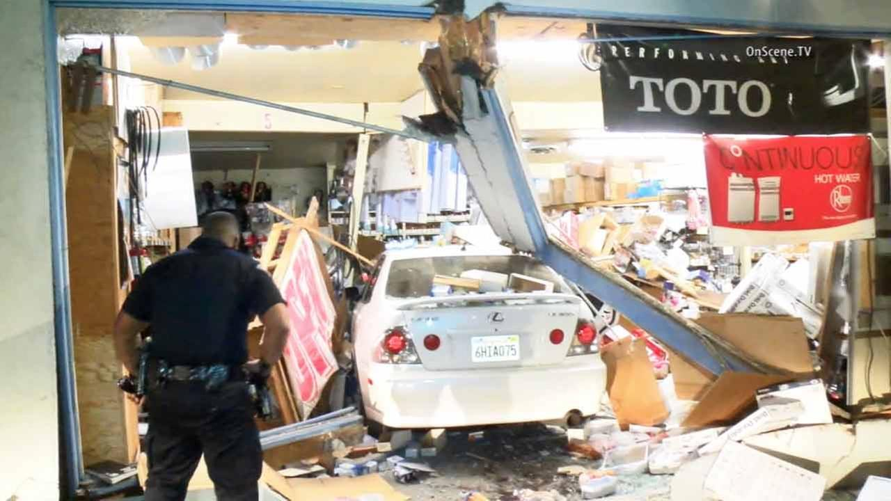 ... Motorist Plows Into Garden Grove Plumbing Business Arrested On Suion Of  Dui ...
