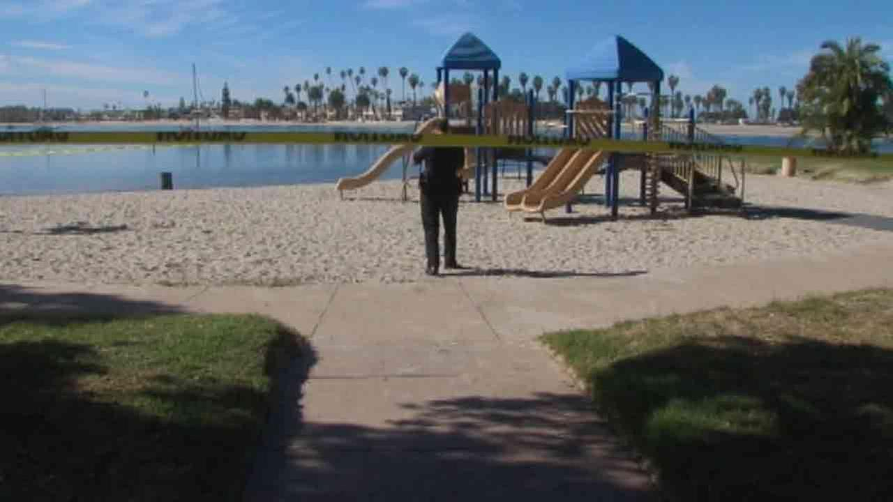 Razor blades have been found near a childrens playground at Bonita Cove Park in Mission Beach at least six times over the last two years, according to San Diego police.