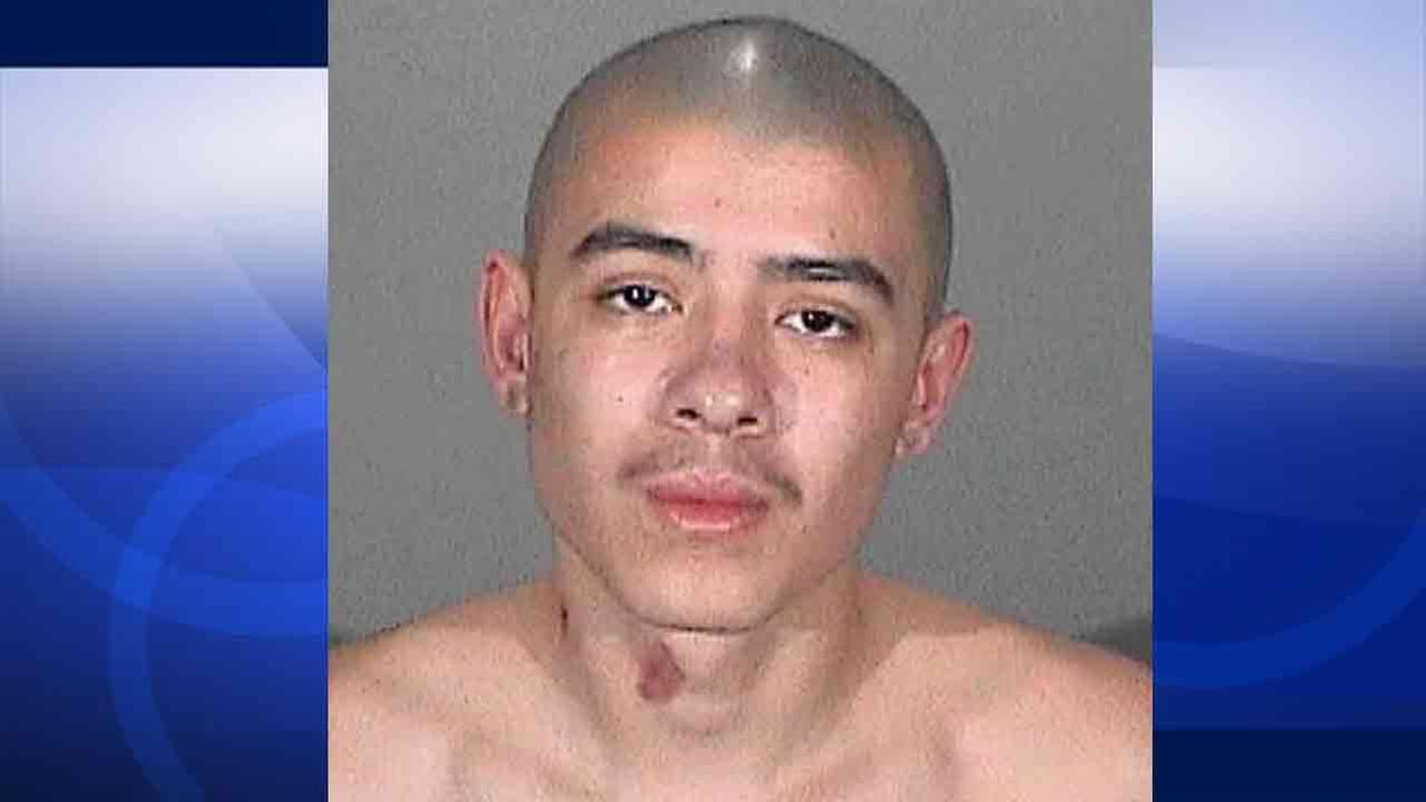 Louis Vasquez, 19, of La Puente was arrested on attempted murder, assault with a deadly weapon, gang enhancement and hate crime charges Saturday, Jan. 31, 2015.
