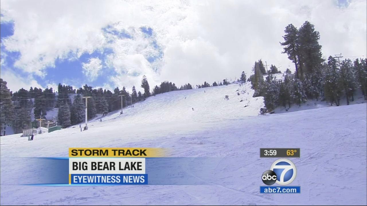 The Southlands local mountains were hit with some snow, freezing rain and wind as a cold system made its way through the region.
