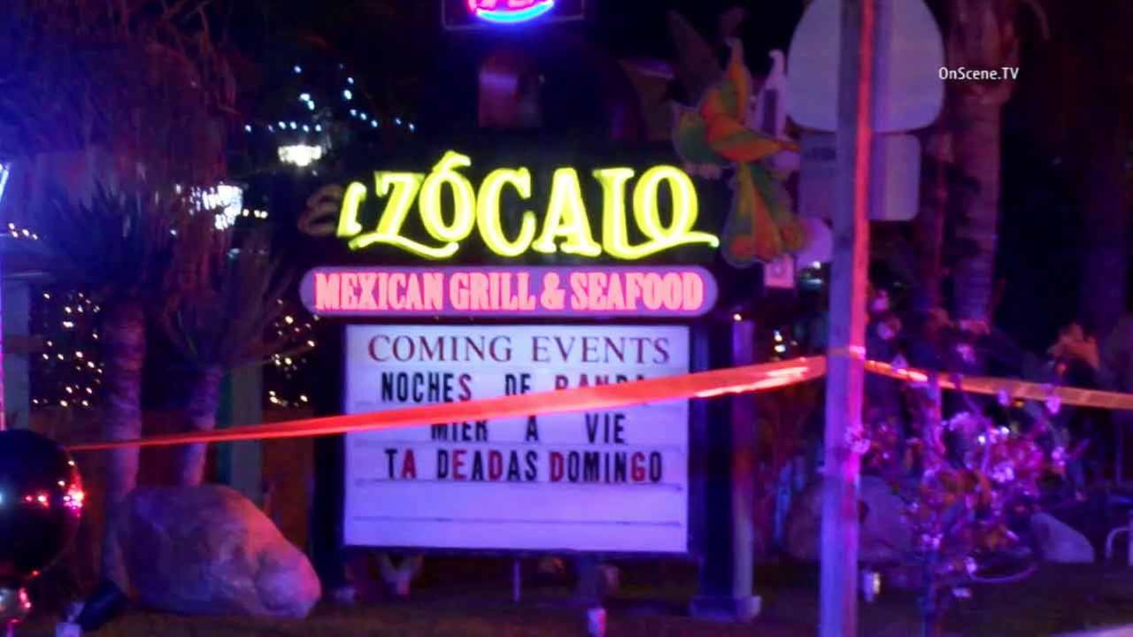 An investigation is underway following a deadly shooting at a restaurant in Santa Ana on Monday, March 2, 2015.
