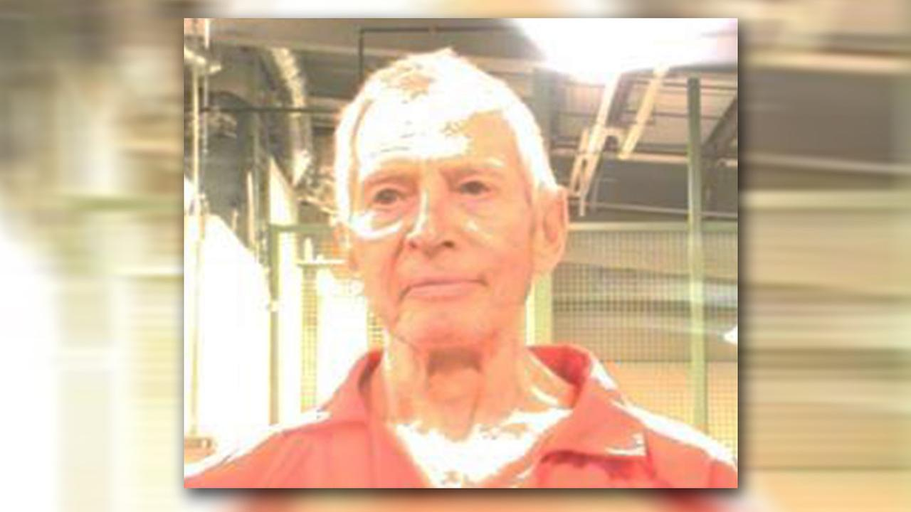 Robert Durst is seen in this photo provided by the Orleans Parish Sheriffs Office.