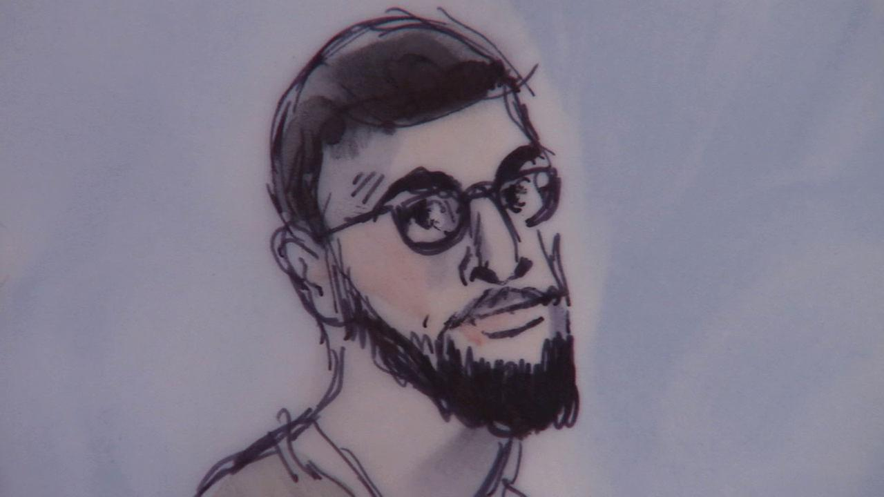 Adam Dandach, also known as Fadi Fadi Dandach, pleaded not guilty to terrorism charges in a Santa Ana courtroom Monday, March 16, 2015.