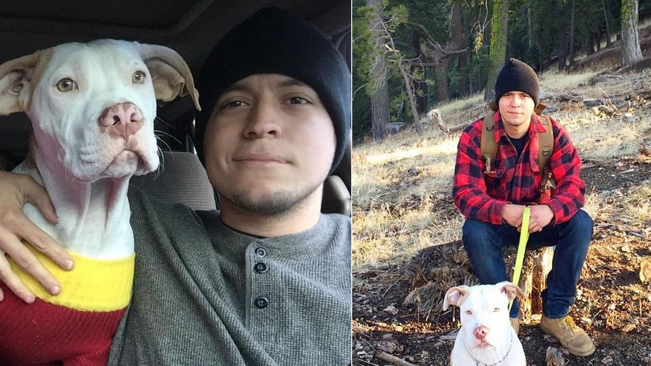 A man battling brain cancer is asking for the publics help in finding his biggest supporter, his dog. Maiden went missing in Riverside Saturday, March 14, 2014.