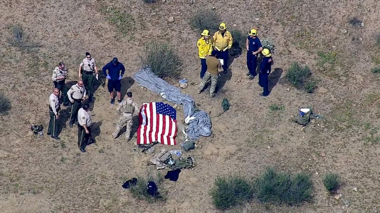 A skydiver was killed in an accident in Perris on Wednesday, March 18, 2015.
