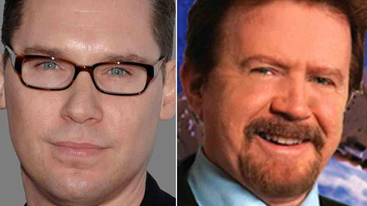 Bryan Singer (left) and Gary Goddard (right) are accused of sexual abuse in a lawsuit filed by an unanonymous British teenager.