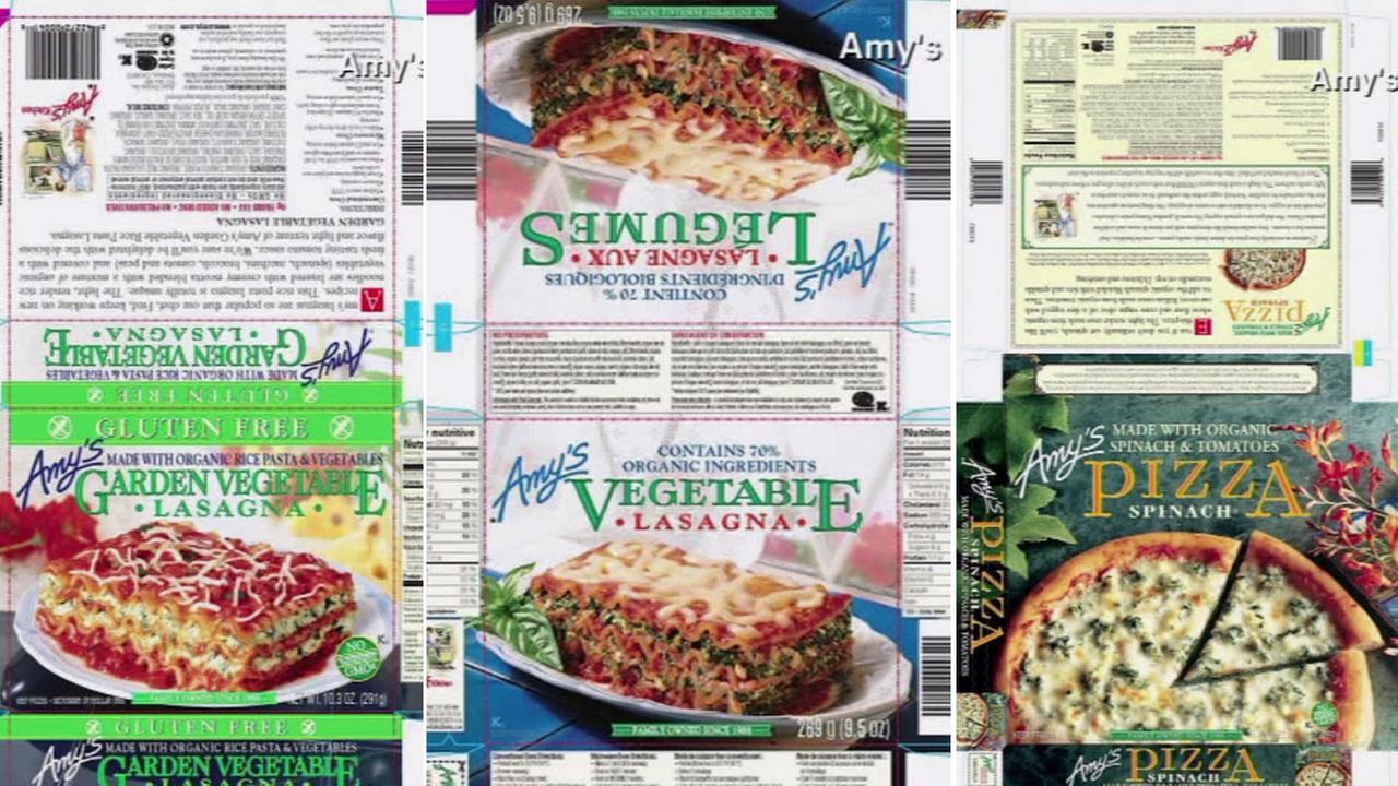 Amys Kitchen has voluntarily recalled nearly 74,000 cases of its frozen meals containing spinach due to possible listeria contamination.
