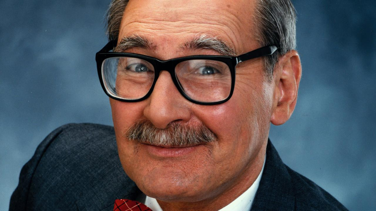 Dr. George Fischbeck, longtime KABC weatherman, is seen in this file photo.