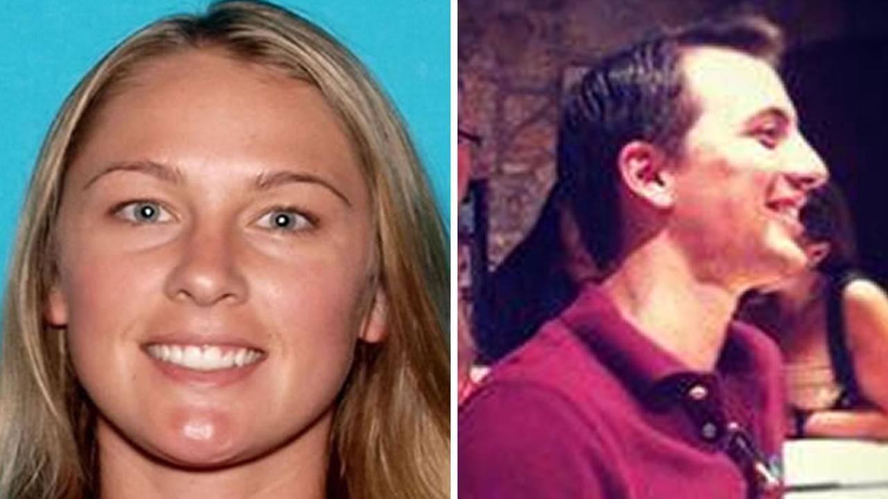 Aaron Quinn, 30, (right) reported that his girlfriend Denise Huskins, 29, (left) was kidnapped and held for ransom in Vallejo, Calif. on Monday, March 23, 2015.