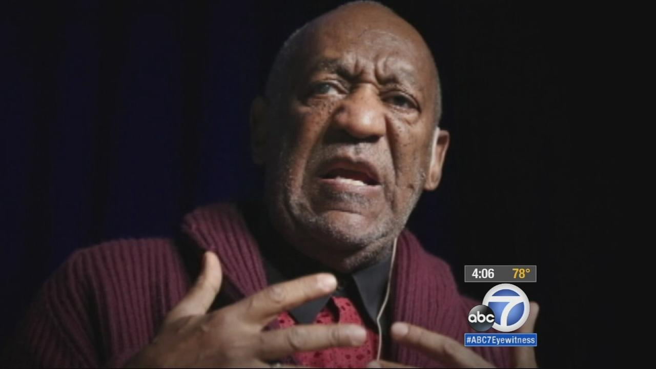 In this Nov. 6, 2013 file photo, comedian Bill Cosby performs at the Stand Up for Heroes event at Madison Square Garden in New York.
