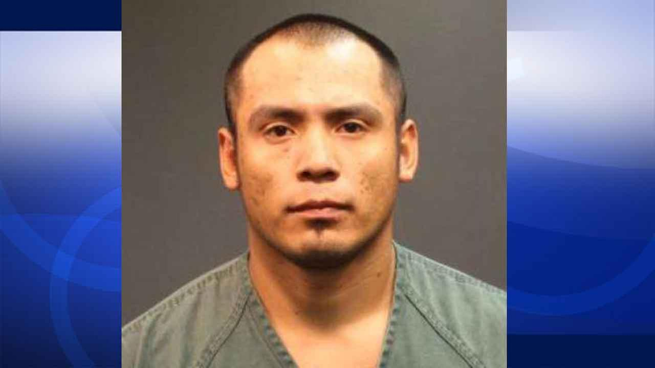 Sergio Joaquin Mendoza, 39, pleaded not guilty to felony counts of kidnapping, criminal threats and domestic battery in a Santa Ana courtroom Monday, March 30, 2015.