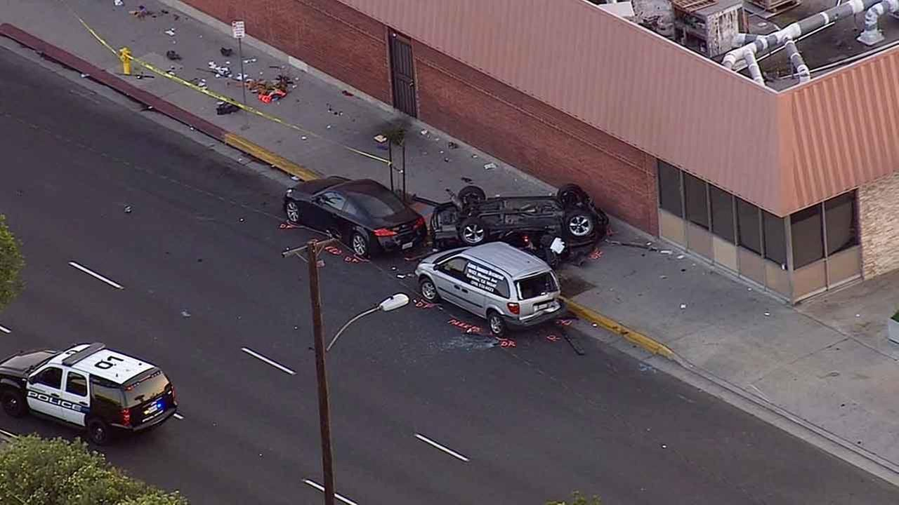 Illegal Street Race In Gardena Ends With Fatal Crash