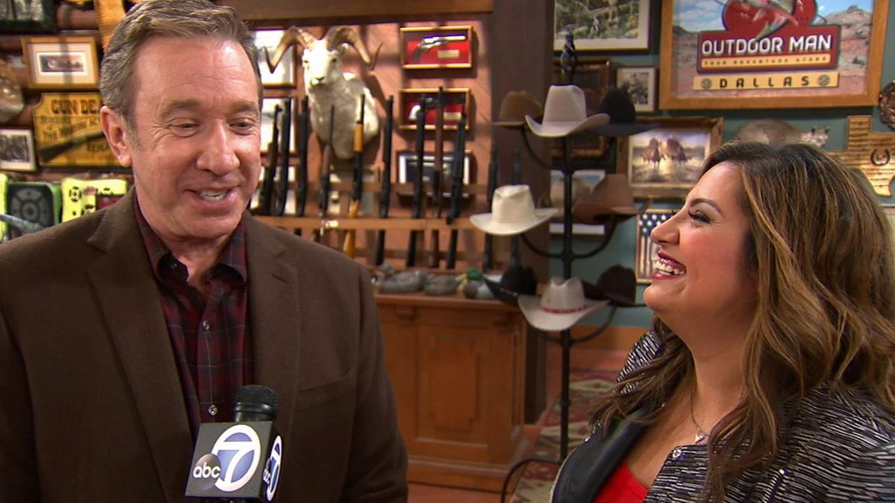 Comedy worlds collide when Last Man Standing star Tim Allen and Cristela star Cristela Alonzo join forces for a special crossover episode on ABC.