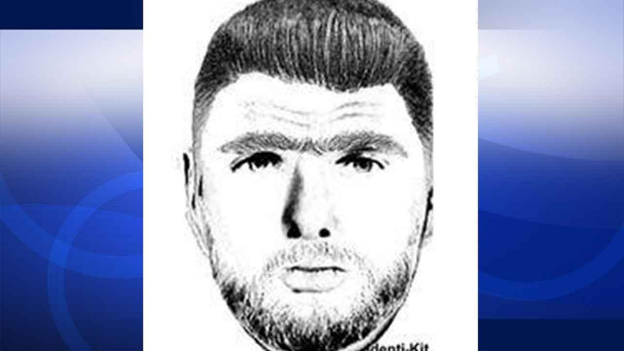 A composite sketch was released of a suspect accused of threatening to kill a male student at the Oviatt Library at Cal State Northridge Thursday, April 2, 2015.