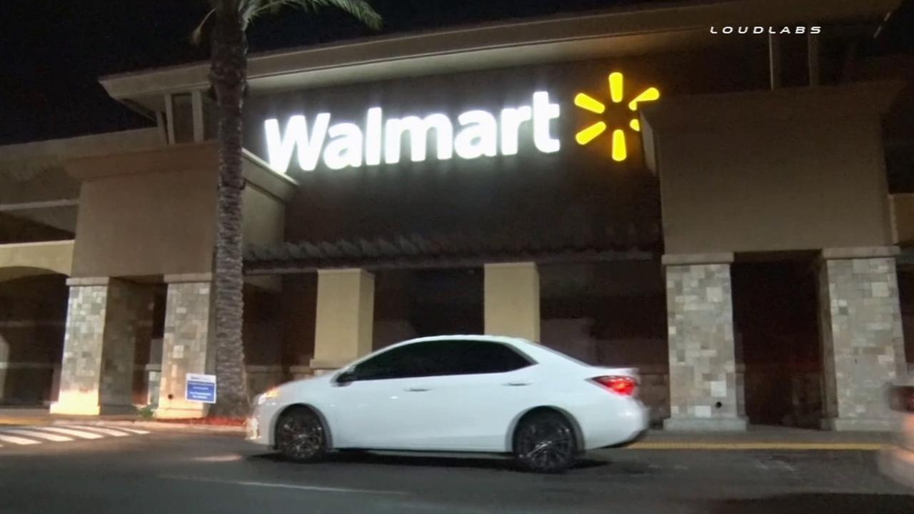 A Walmart in Pico Rivera is shown in this undated file photo.