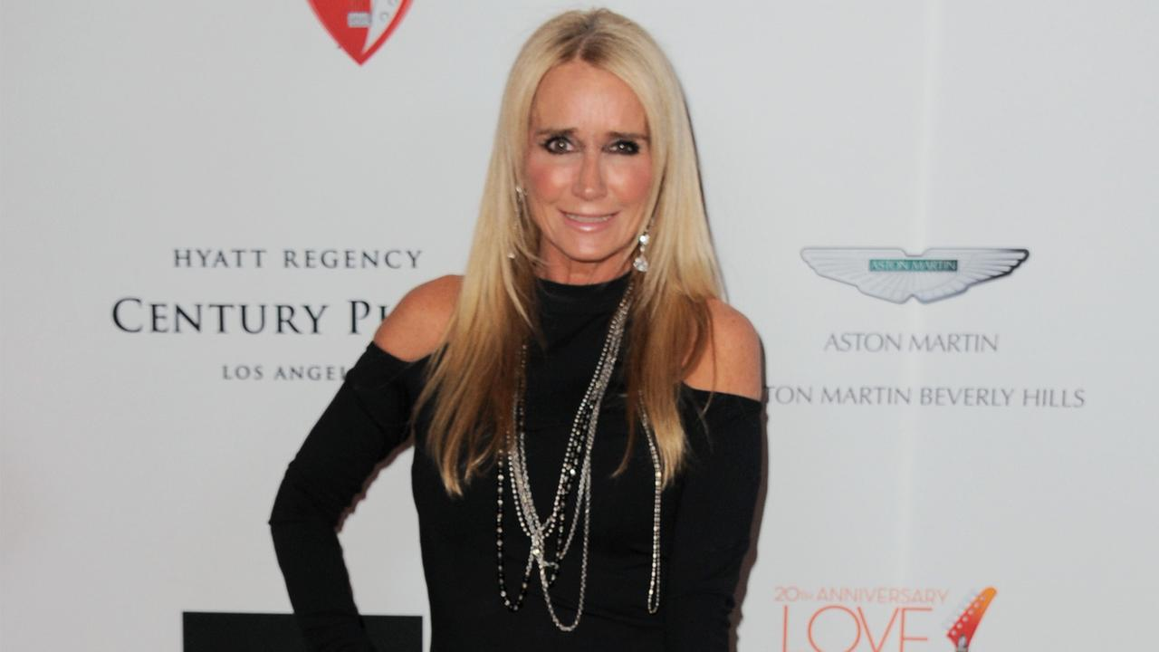 Kim Richards arrives at the 20th annual Race to Erase MS event Love to Erase MS at the Hyatt Regency Century Plaza on Friday, May 3, 2013.