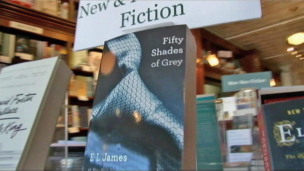 The book Fifty Shades of Grey is seen on display in this file photo.