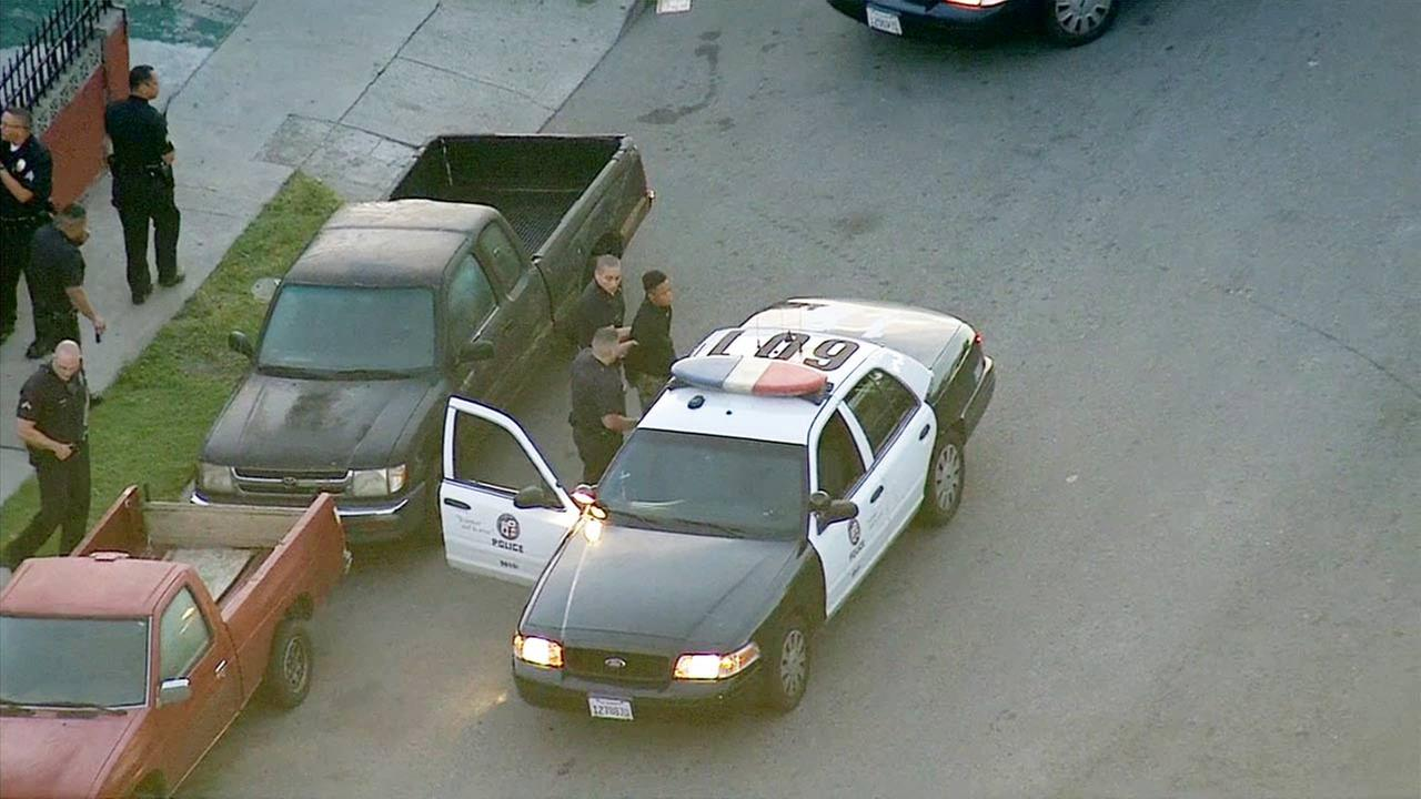 A reckless driving suspect led police on a wild high-speed chase through South Los Angeles before being arrested on Wednesday, April 29, 2015.