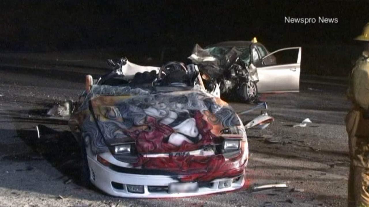Teenager killed in San Bernardino street-racing crash | abc7.com